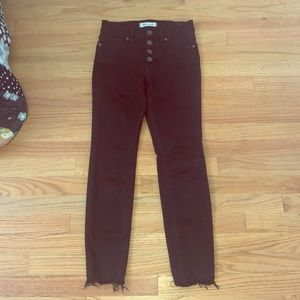 BARELY WORN Madewell PETITE Jeans